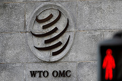 Global trade volume to drop by 9.2% in 2020, less severe than expected: WTO