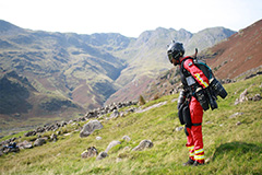 UK-based company tests jet suit to use in emergency rescue operations