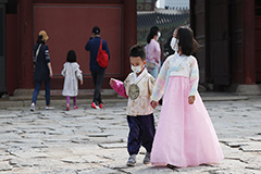 Traditional clothes from Korea and rest of world on display at 2020 Jongno Hanbok Festival