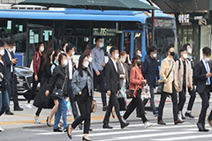 S. Korea to impose fines for not wearing masks starting November 13