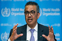 WHO chief calls herd immunity strategy against pandemic 'ethically problematic'