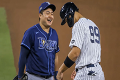 Two hits for Choi Ji-man as Rays advance to World Series