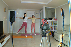 Home fitness gaining popularit