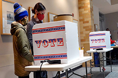 Early ballots continue to increase, as the U.S. presidential election gets closer