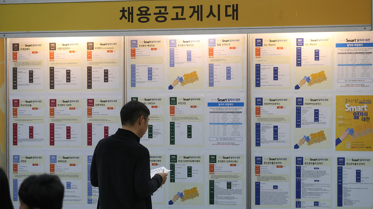 S. Korea's job crisis amid COVID-19 taking harder hit on young people