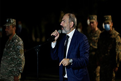 Armenia's PM Pashinyan says no diplomatic solution to Karabakh crisis at this stage