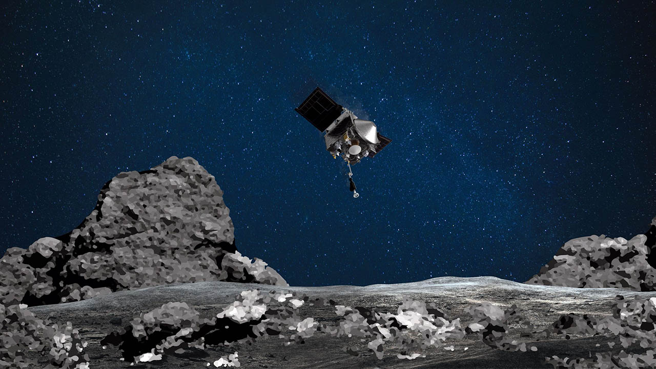 NASA succeeds in first-ever attempt to collect asteroid samples