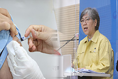 Health authorities say there is no link between flu vaccine and deaths