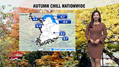 Chilly all day with sunny skies across country, colder on Saturday morning