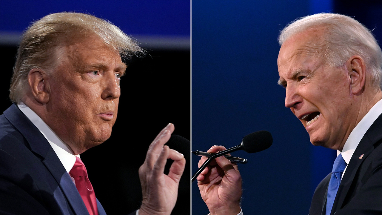 Trump, Biden face off in final presidential debate