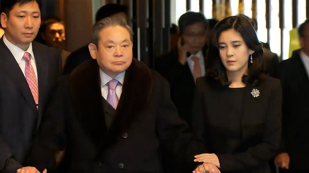 Samsung chairman Lee Kun-hee dies at hospital on Sunday at age 78