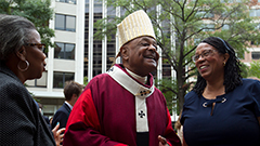 Pope names 13 new cardinals, including first African-American