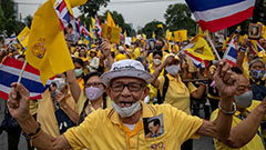 Thailand divided between royalists and anti-monarchy protesters, drawing international attention