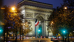 Eiffel Tower area evacuated briefly after bag filled with ammunition found