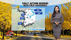 Cool and chilly afternoon ahead under clean air