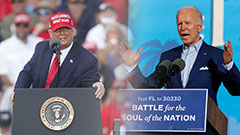 Swing States: Biden holds slight lead in polls five days before U.S. election