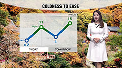 Coldness to ease tomorrow...rain in central regions on Friday