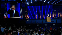 Biden's 'Blue Wall' victories and demographics of his supporters