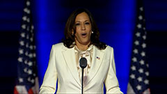 Kamala Harris makes history in U.S. becoming first woman, Black and Asian American vice president