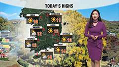 Chilly all day under sunny skies nationwide