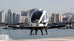 S. Korea tests drone taxi flig