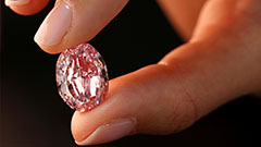Rare pink diamond sold for $26.6 million at Sotheby's Geneva auction