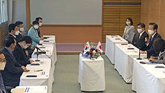 S. Korean lawmakers meet Japanese PM and discuss wartime forced labor issues