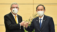 Japanese PM, IOC chief reaffirms determination to ensure safe 2021 Tokyo Olympics