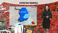 Heavy rain to let up from afternoon, winter chill from Friday