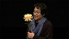Well-known actor Park Sang won's monologue 'Der Kontrabaß' on stage