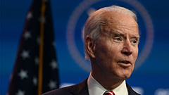 Biden to announce his first Ca