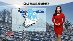 Subzero morning lows for most parts under cold wave advisories