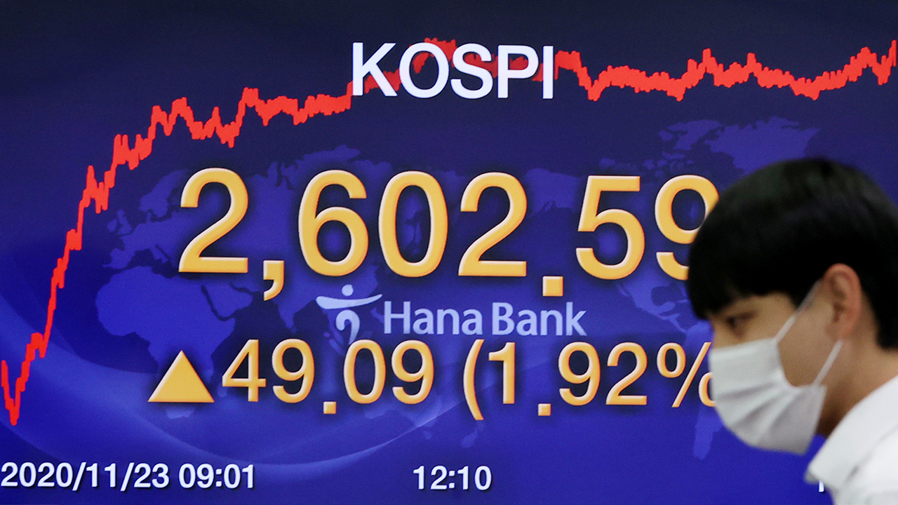 S. Korea's KOSPI closes at all-time high on foreign buying