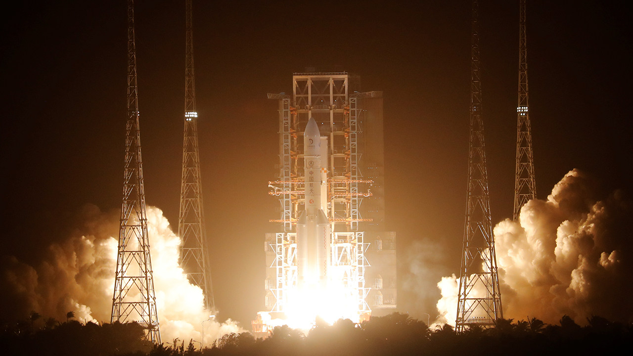 China launches moon probe to collect first lunar rocks since 1970s