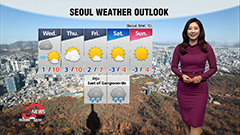 Winter chill takes over first half of day