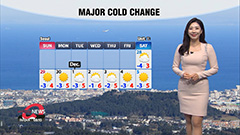 Cold eases this afternoon but colder air returns this weekend
