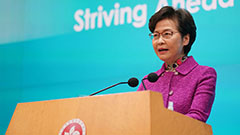 Carrie Lam defends national security law for restoring political system from chaos