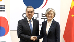 China's top diplomat Wang Yi in Seoul for talks with President Moon Jae-in, FM Kang Kyung-wha