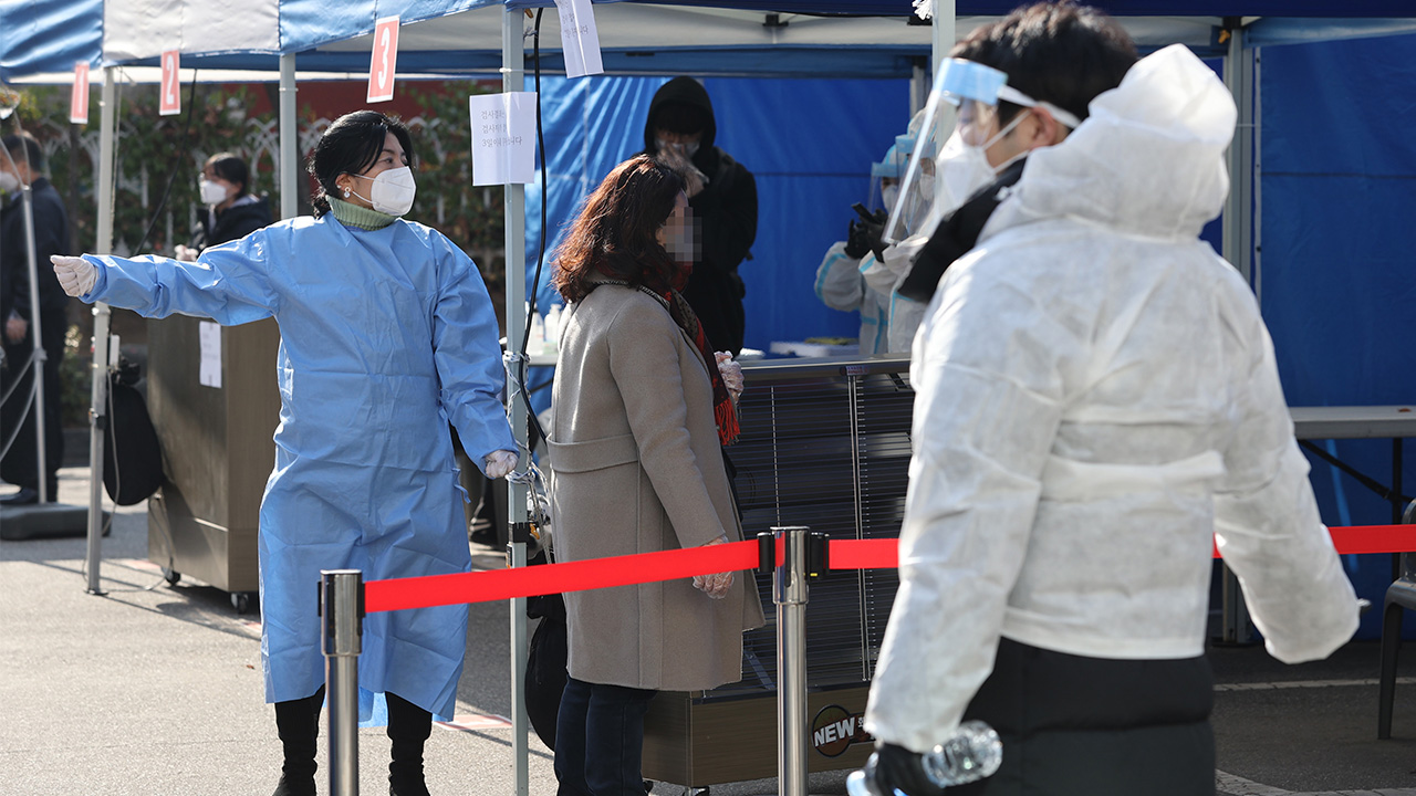 S. Korea reports 583 cases on Thursday; highest spike since March