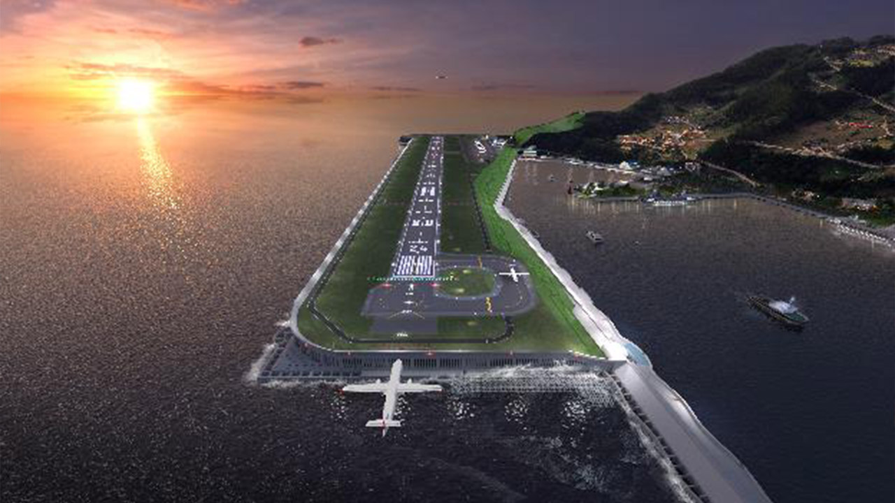 S. Korea begins construction of airport on eastern island of Ulleung-do