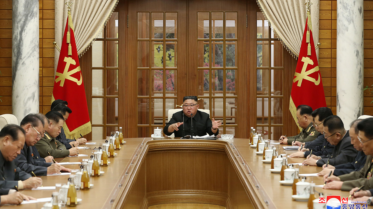 N. Korean leader slams regime's economic bodies ahead of crunch party congress in Jan.
