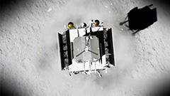 Chang'e-5 successfully lands on moon to collect lunar samples