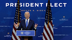 Biden vows swift passage of pandemic stimulus package, ensures to build fair, equal economy