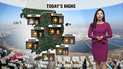 Cold, dry and sunny afternoon on tap