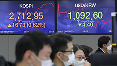 KOSPI sets fresh record high, rising above 2,700 points