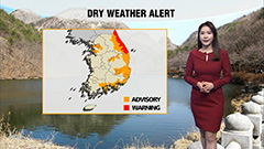 A tad bit warmer weekend but dry condtions will prolong