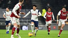 Son Heung-min scores 10th goal of EPL season in Tottenham Hotspur's 2-0 win over Arsenal