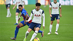 Son Heung-min tallies 4th assist of season in Tottenham's 1-1 draw against Crystal Palace