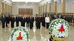 Kim Jong-un pays tribute on anniversary of father's death: KCNA
