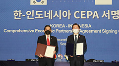 S. Korea inks free trade pact with Indonesia